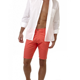 PITTS     Bermuda homme Coton Stretch