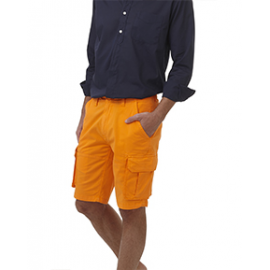 TEES     Bermuda homme Coton Stretch