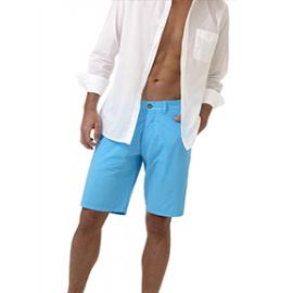 SHARK    Bermuda homme  Popeline de Coton